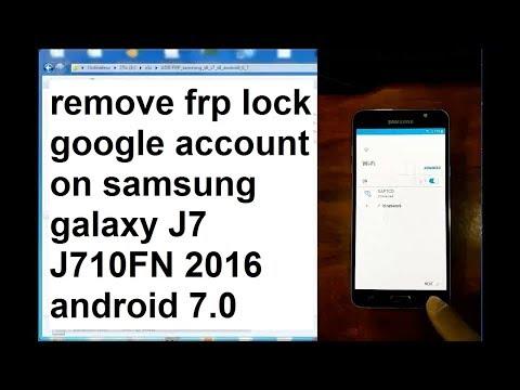 Mobile Info: Samsung Galaxy j7 2016 Reset