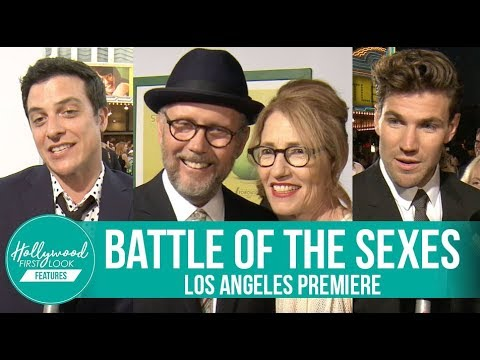 Battle of the Sexes Los Angeles Premiere  Jonathan Dayton, Austin Stowell, James Mackay & more!