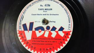 V-Disc: Count Basie & his Orchestra - Taps Miller