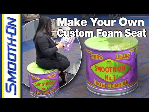How To Make a Custom Foam Seat Using Pourable Urethane Foam