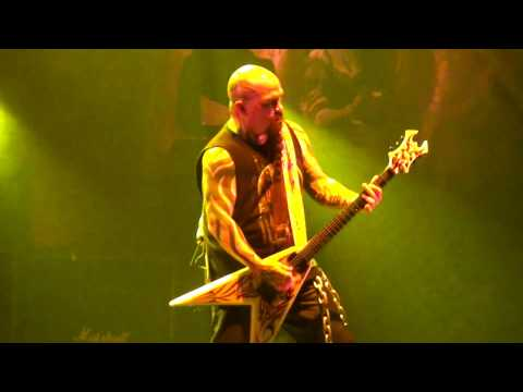 Slayer - Kerry King live in Bratislava (17.8.2016) + ending concert with my camera... :-)