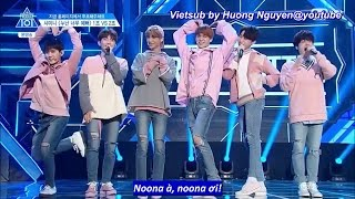 [Vietsub] REPLAY TEAM + Justin Cut Ep 4 @Produce 101 SS2