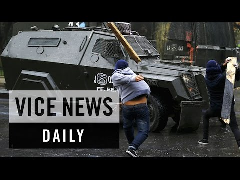 VICE News Daily: Students Demand Education Reform in Chile