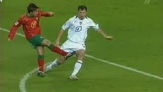 Португалия - Россия. Отбор к ЧМ-2006 (7-1)