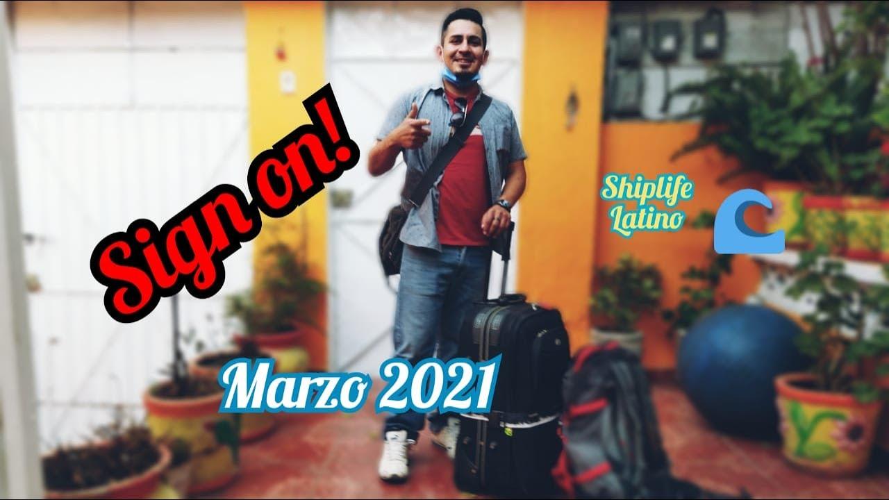 Viajo de REGRESO A LOS CRUCEROS!! Y les contamos todos los detalles del EMBARQUE y CUARENTENA 😉✈️🛳️