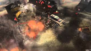 Company of Heroes 2 - British OP airsupport!