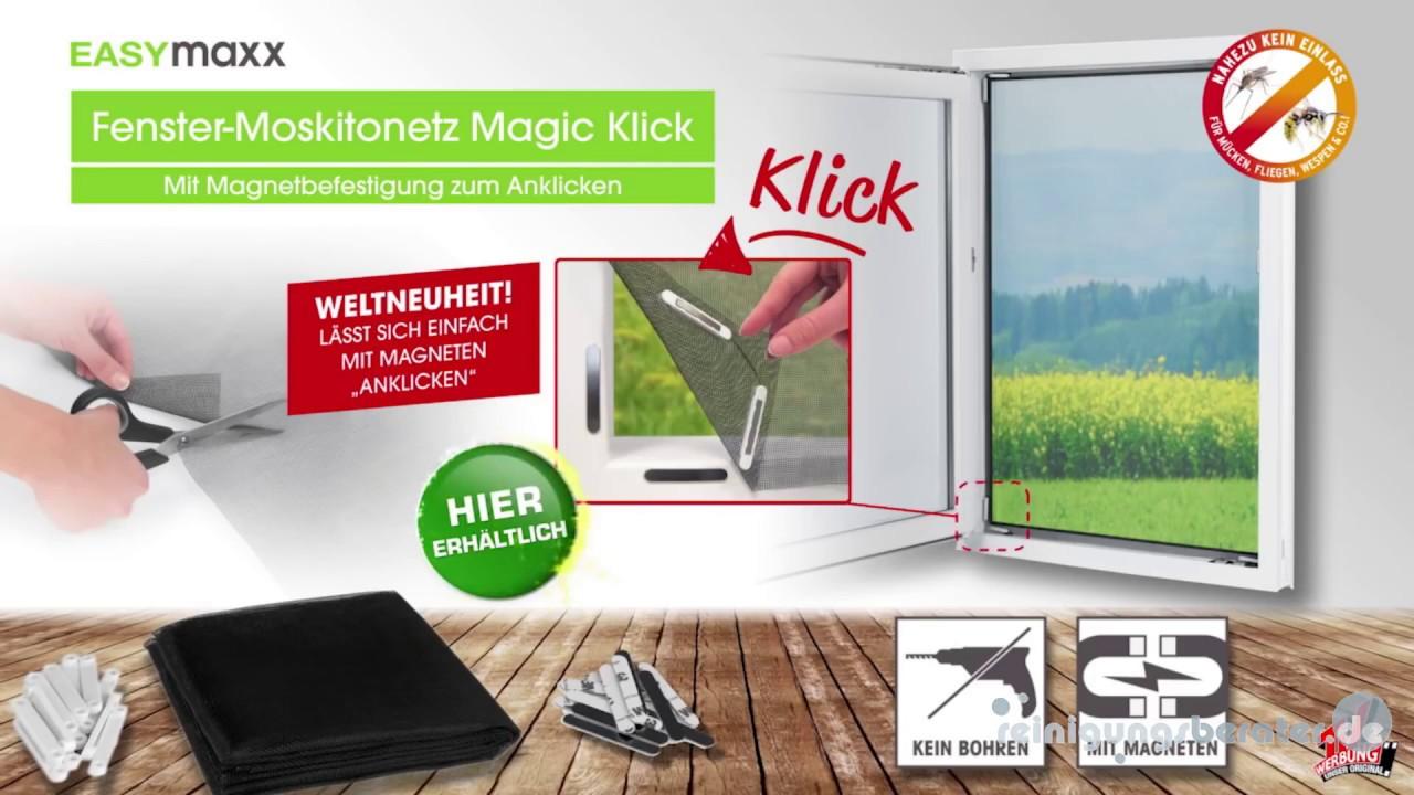 Easymaxx Moskitonetz Mit Magnetbefestigung 150x130 Cm Bei Www Reinigungsberater De Youtube