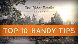 The Elder Scrolls Online: Top 10 Handy Tips