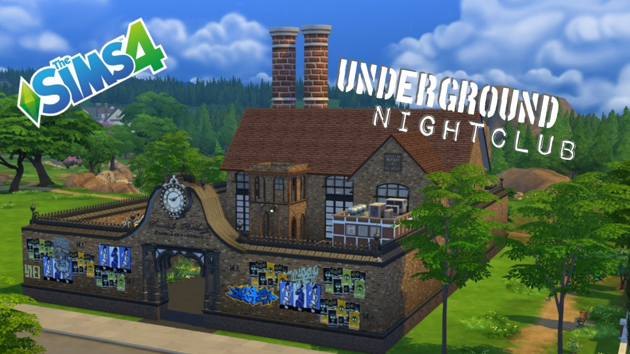 the sims 4 how to build underground