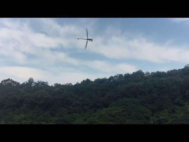 Goblin700 4525-520kv - vbar Governor test flight
