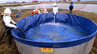 В Мысе Каменном прошли масштабные учения по ликвидации разлива нефти(Компания «Газпром нефть Новый Порт» провела учения в районе приемо-сдаточного пункта нефтегазоконденсатн..., 2014-08-14T08:06:17.000Z)