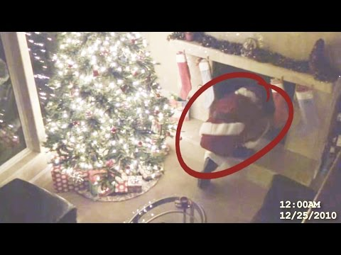 Thumbnail: Top 10 Times Santa was Caught on Camera