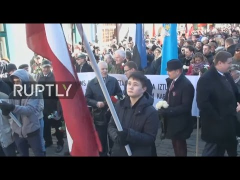 LIVE: March honouring Waffen SS Latvian Legion to take place in Riga