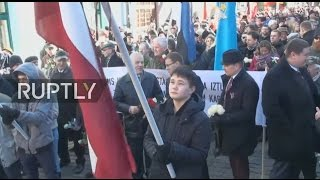 LIVE  March honouring Waffen SS Latvian Legion to take place in Riga