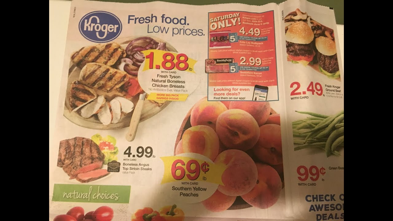 Kroger Weekly Ad Couponing Matchup- 6/6/18-6/12/18- Week 2 of the MEGA  EVENT!!!