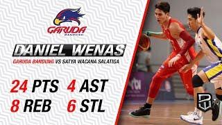Daniel Wenas CAREER HIGH 24pts 8reb 4asst 6stl!! Full Highlights  29 April 2016