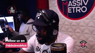Cornet Mamabolo Talks Business on Dj Sbu Breakfast