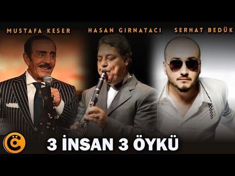 """Mustafa Keser-Hasan Gırnatacı-Serhat Bedük """"3 İnsan 3 Öykü"""" Belgeseli"""