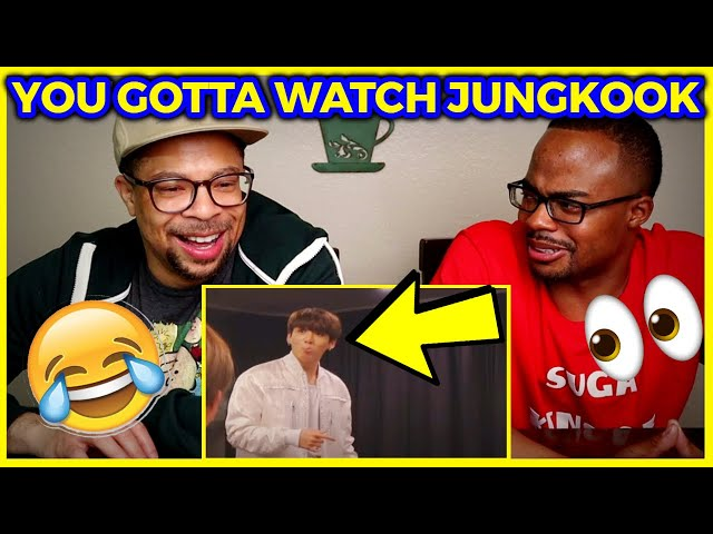 Watch Jungkook in the back of videos (REACTION) 👀🤣