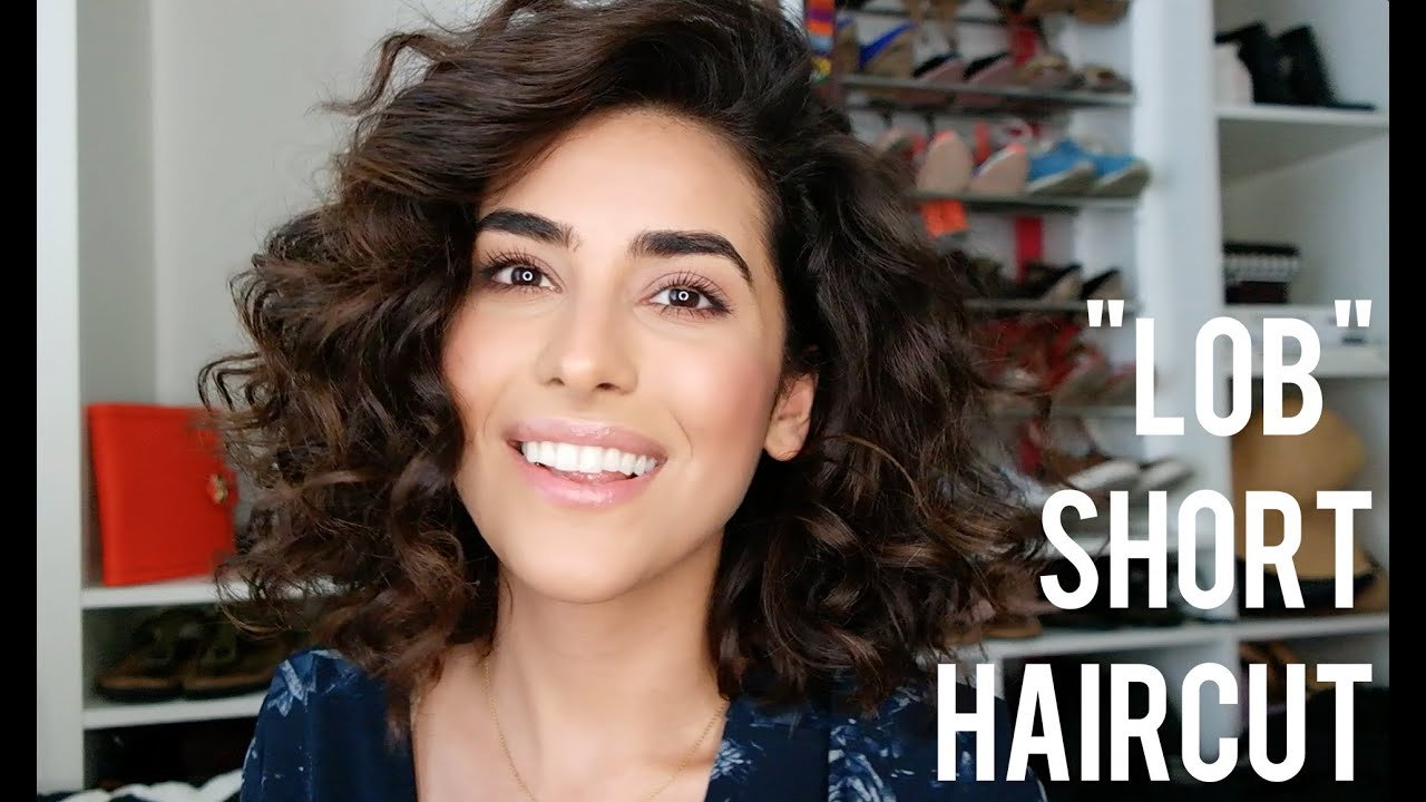 how to style short wavy hair my lob haircut tips for styling 1553 | maxresdefault