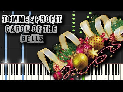 Tommee Profit - Carol of the Bells - Piano Tutorial Synthesia (Download MIDI)