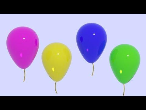 Kolorowe baloniki 3D (color baloon)