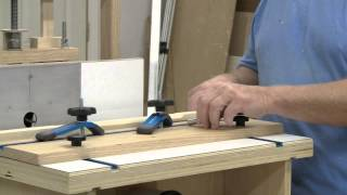 stop chemfer on the horizontal router table