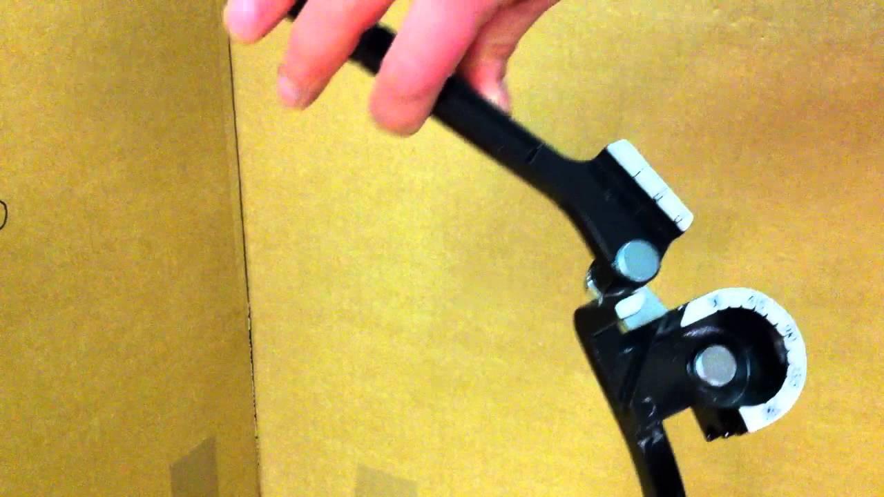 Großartig SANPRO Biegezange 3-fach NW 6, 8 und 10mm - YouTube YL41