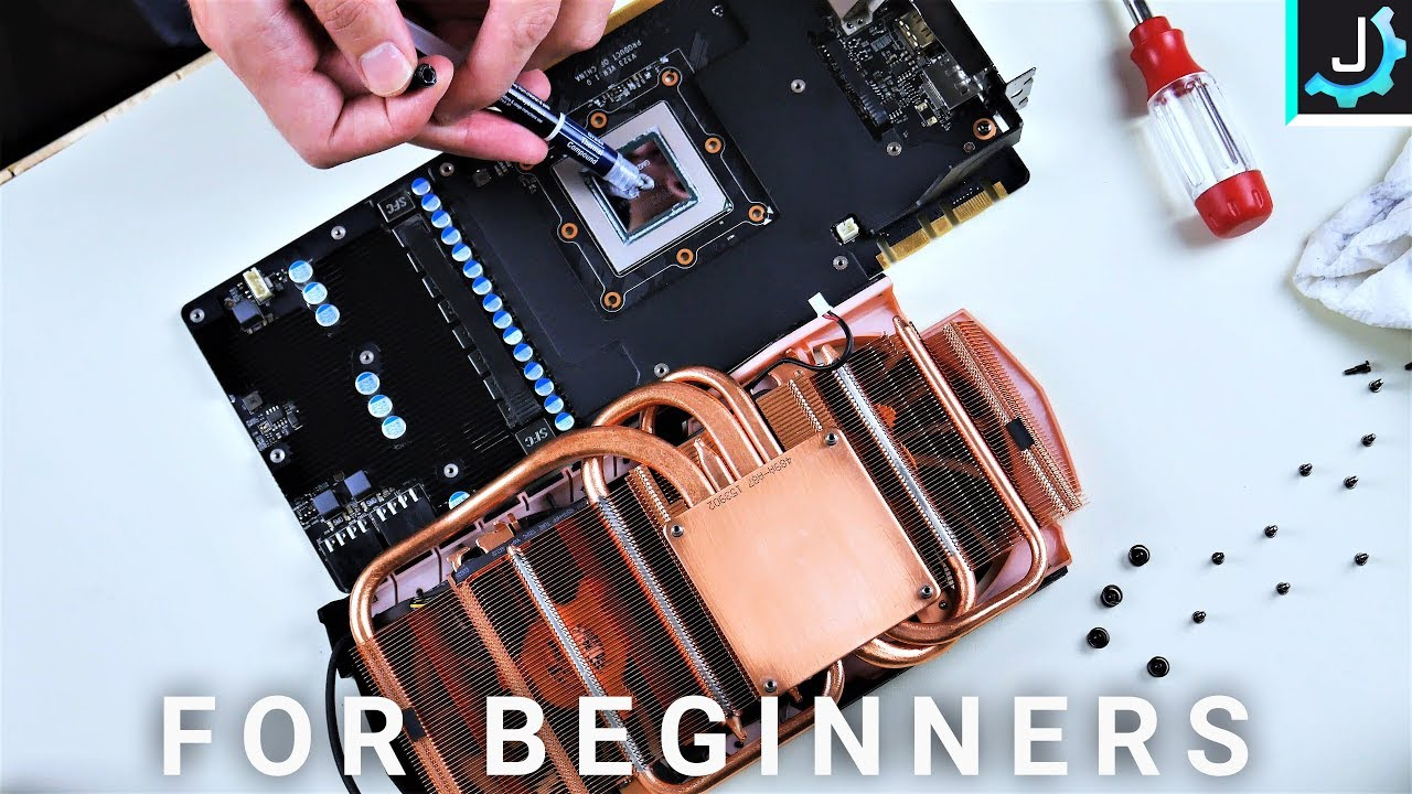 How To Replace Gpu Thermal Paste This Is Crucial Youtube