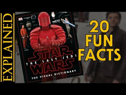 Download Youtube: 20 Fun Facts From The Last Jedi Visual Dictionary