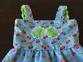 Little girl s dress hand sewn no sewing machine