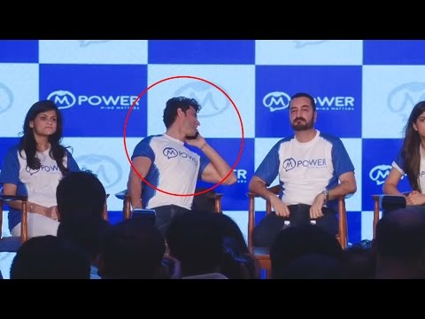 Hrithik Roshan's Son INTERRUPTS The Press Conference At Mpower's Event