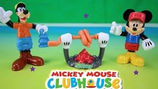 Disney Mickey Mouse Clubhouse Campfire Figure Set Figuras de Juguete