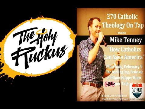 Mike Tenney's Day in the Life: Theology on Tap Night