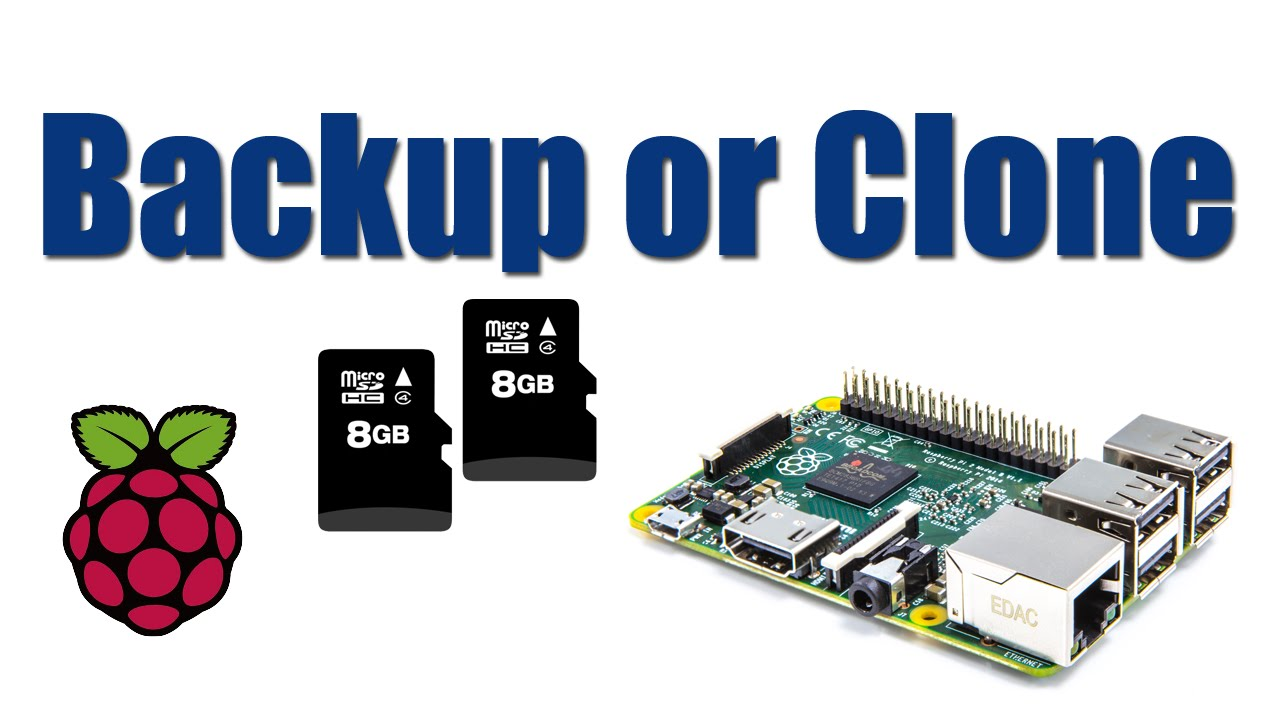 how to clone or backup your raspberry pi sd card youtube. Black Bedroom Furniture Sets. Home Design Ideas