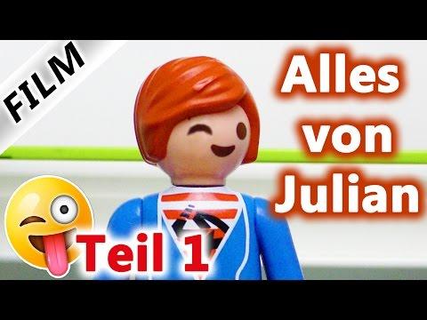 Playmobil Film Deutsch | ALLES VON JULIAN! Kinderserie Familie Vogel Teil 1