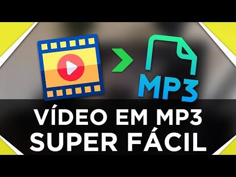 Como converter VÍDEO em MP3 sem programas | SUPER FÁCIL | CONVERSOR ONLINE GRÁTIS