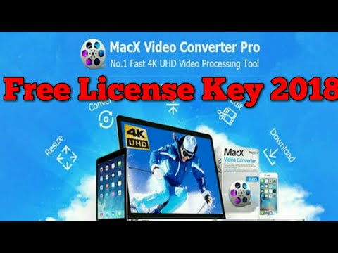 MacX HD Video Converter Pro For Windows Free License Key 2018