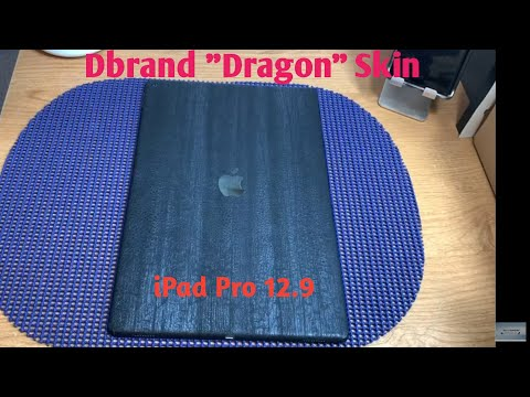 DBrand Skin (Dragon) For iPad Pro 12.9 (1St-Gen)
