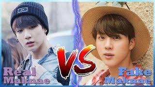 BTS Real Maknae vs Fake Maknae