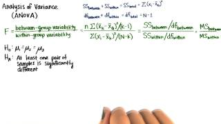 F-Distribution - Intro to Inferential Statistics
