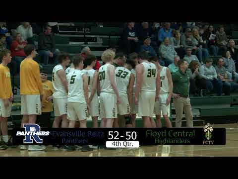 Floyd Central Vs FJ Reitz Boys Basketball