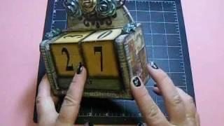 Woc - Designer Team Call - Altered Wooden Calendar