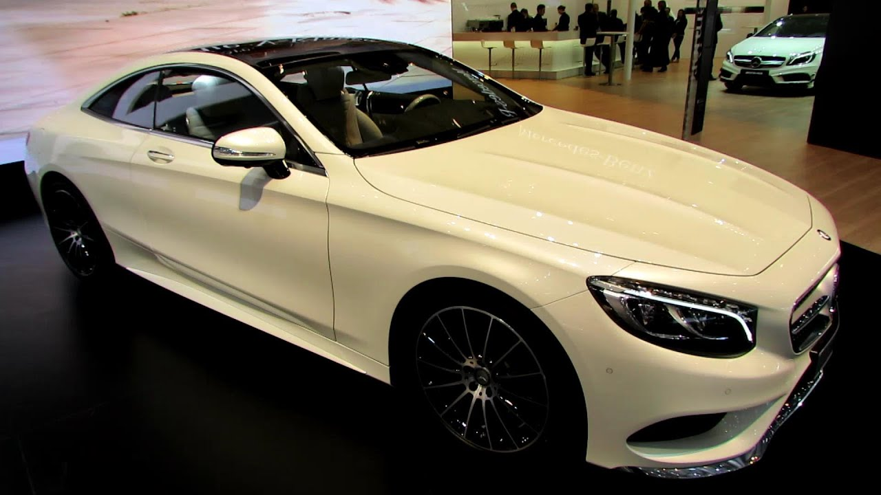2015 mercedes s class coupe s500 exterior interior walkaround debut at 2014 geneva motor. Black Bedroom Furniture Sets. Home Design Ideas