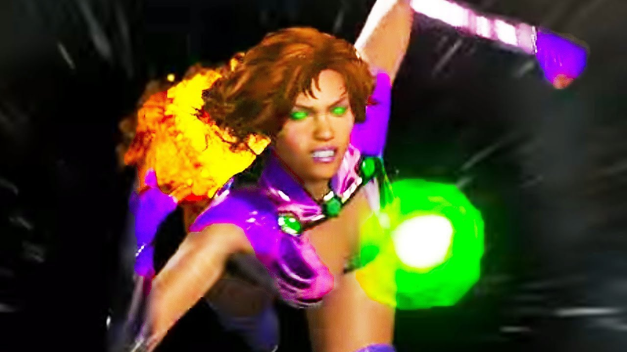how to play with starfire in injustice 2