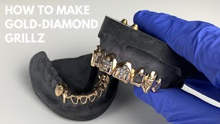 How To Make Gold-Diamond Grillz