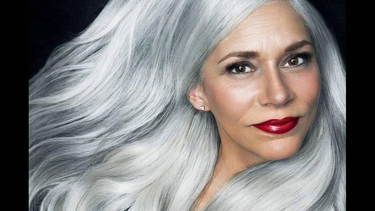 Best Hair Dye For Gray Hair Clairol Age Defy Reviews - YouTube