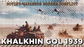 Battle of Khalkhin Gol 1939 - Soviet-Japanese War DOCUMENTARY