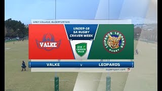 Craven Week | Valke vs Leopards