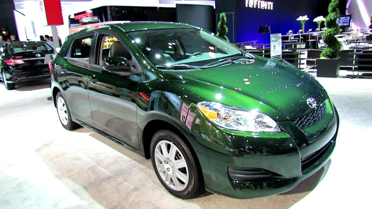 2012 Toyota Matrix Exterior And Interior At 2012 New York International  Auto Show   YouTube